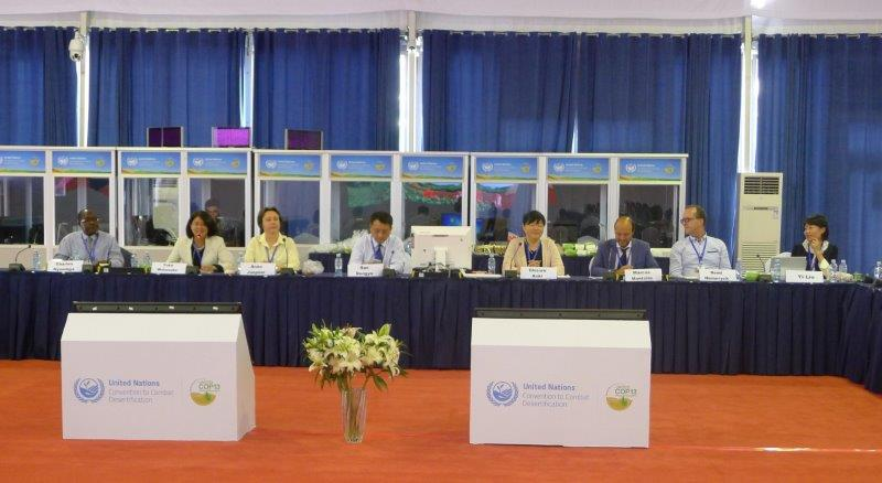 Launch of Agroecology at UNCCD COP small