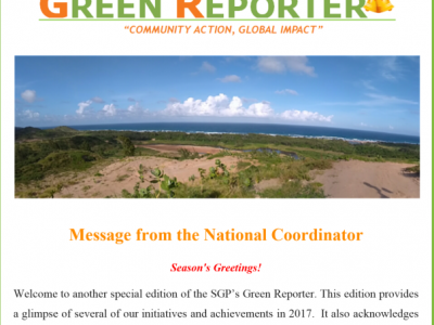 Barbados  SGPs Green Reporter  Dec2017
