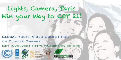 Youth Video Competition for Paris 2015 Launched on UN World Environment Day
