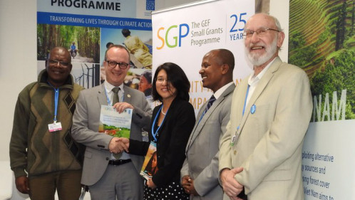 SGP launches partnership with SOS Sahel