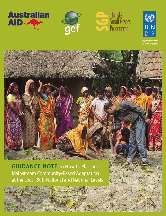 Guidance Note on How to Plan and Mainstream Community-Based Adaptation at the Local, Sub-National and National Levels
