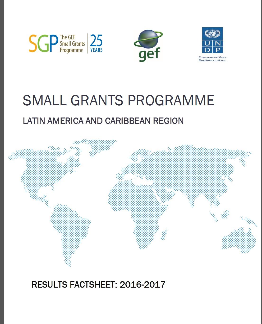 SGP LAC: Results fact sheet 2016 - 2017