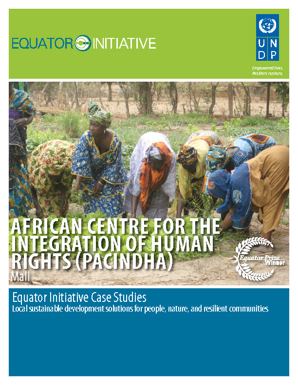 AFRICAN CENTRE FOR THE  INtegration of Human Rights -Pacindha