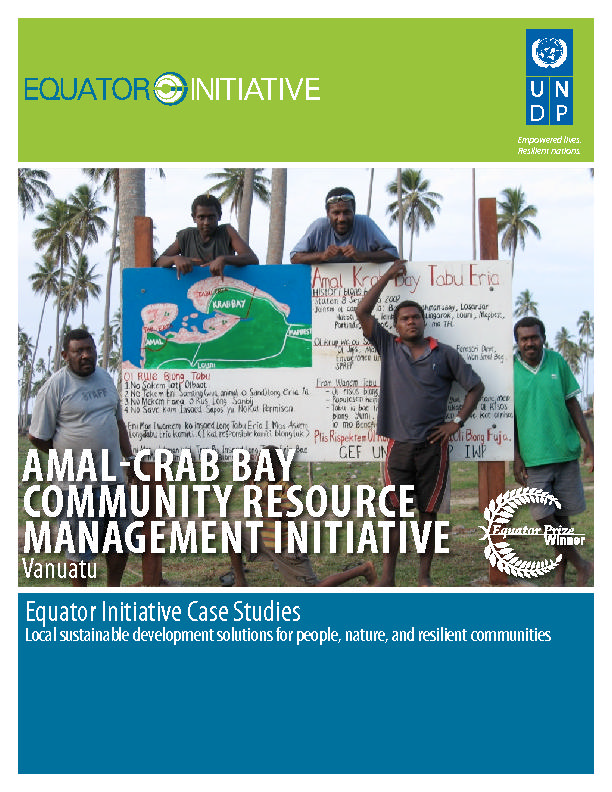 AMAL-CRAB BAY Community Resource Management Initiative