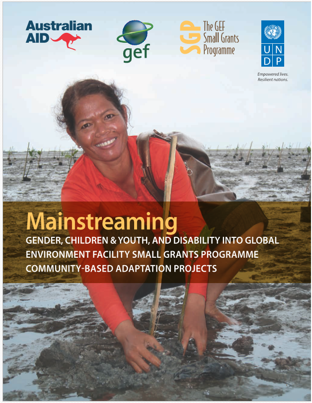 Mainstreaming Gender, Children & Youth, and Disability into SGPs Community-Based Adaptation Projects