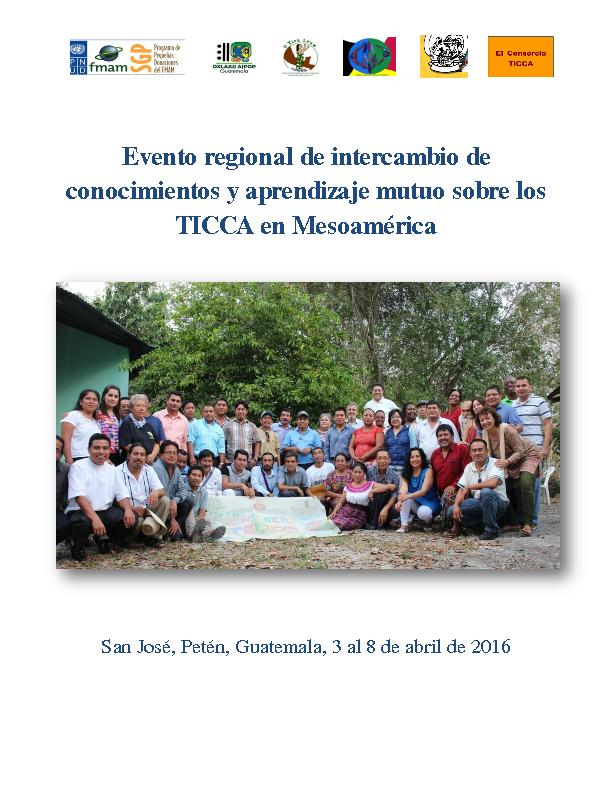 Knowledge-sharing and capacity building on ICCAs in Mesoamérica