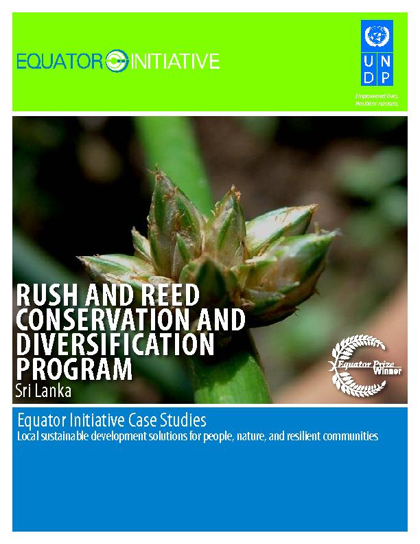 RUSH AND REED CONSERVATION AND DIVERSIFICATION PROGRAM