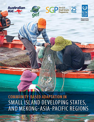 Community-based adaptation Small Island Development States, and MEKONG-Asia-Pacific regions