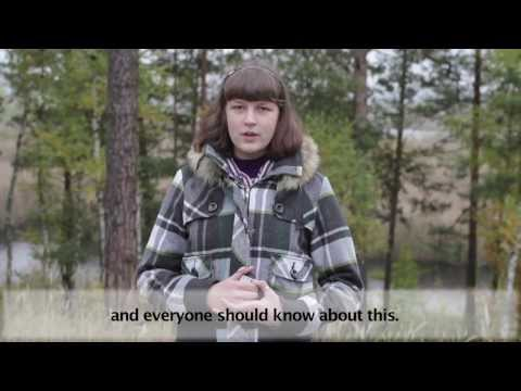 "Ukraine: ""Ecological education of youth as a method to combat climate change"" (English subtitles)"