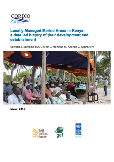 Kenya: Locally managed Marine Areas, a detailed history of their development and establishment