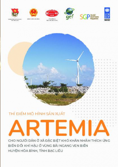 Developing the community-based Artemia  production supporting climate change adaptation in coastal areas of Hoa Binh district, Bae Lieu province