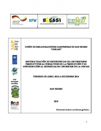 Evaluation of project UOCASI - SGP Ecuador
