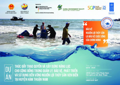 Promoting empowerment and capacity building for local communities in management, protection and sustainable use of marine resources contributing to conservation of coastal ecosystem in Ham Thuan Nam district, Binh Thuan province.""