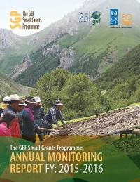 Small Grants Programme Annual Monitoring Report 2015 - 2016