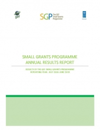 The GEF Small Grants Programme Result Report 2018 - 2019