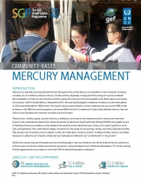 Community-based mercury management