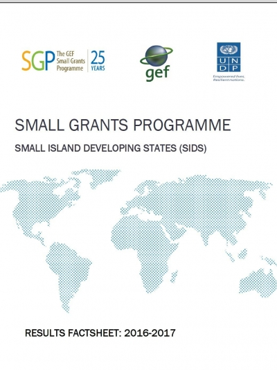 SGP SIDS: Results fact sheet 2016 - 2017