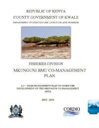 Kenya - Co-management plan for Mkunguni BMU