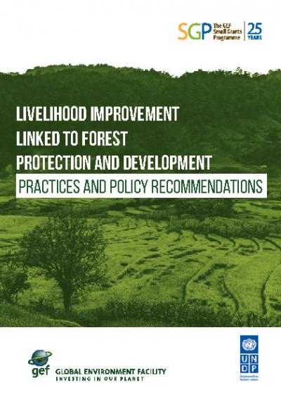 LIVELIHOOD IMPROVEMENT LINKED TO FOREST PROTECTION AND DEVELOPMENT PRACTICES AND POLICY RECOMMENDATIONS