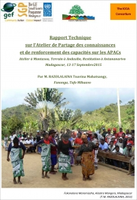 Knowledge-sharing and capacity building on ICCAs in Madagascar