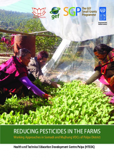 Reducing Pesticide in the Farm: Working approach in Somadhi and Mujhung VDCs of Palpa District