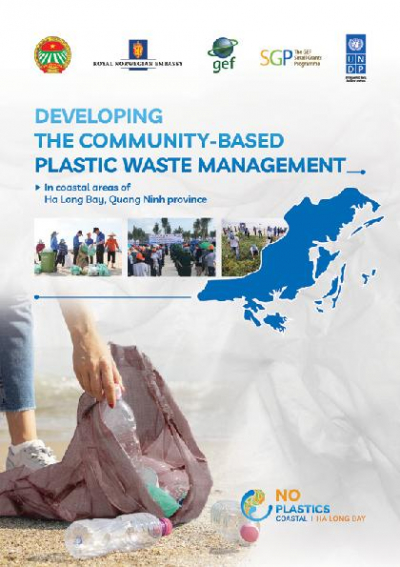 Developing the community-based plastic waste management in coastal areas of Ha Long Bay Quang Ninh province.