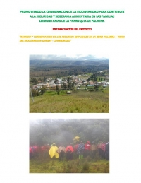 Evaluation of project ATAPO - SGP Ecuador