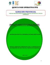 Evaluation of project Kamachw - SGP Ecuador