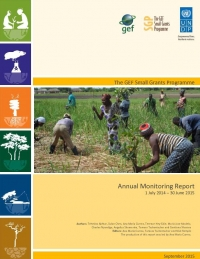 Small Grants Programme Annual Monitoring Report 2014-2015
