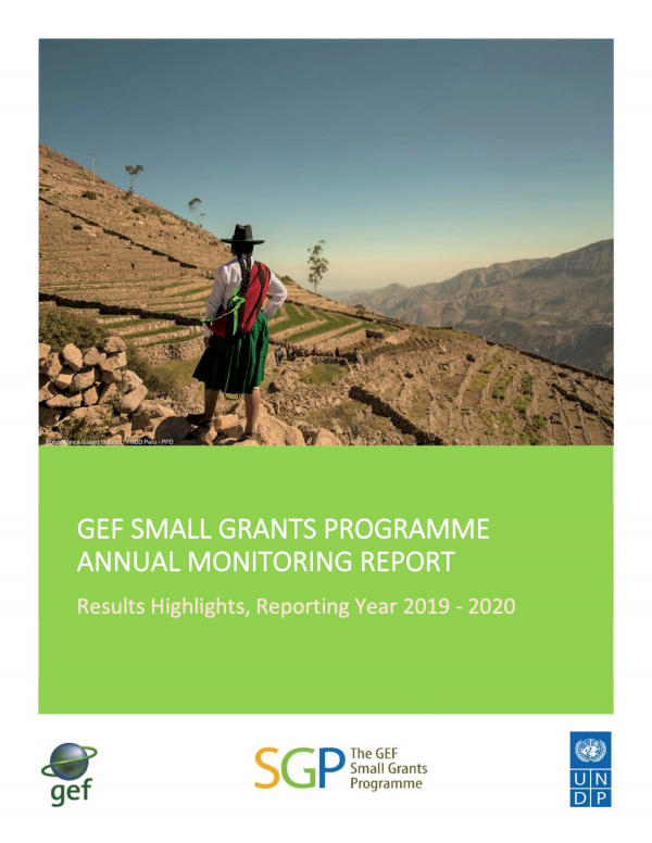 GEF SGP Annual Monitoring Report, Results Highlights 2019-2020